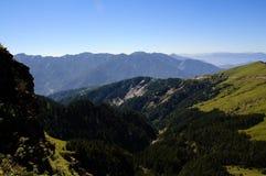 Paisagem famosa de Formosa: Montanha de Hehuan no taroko Imagem de Stock Royalty Free