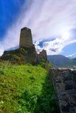 Paisagem, fortaleza de Khertvisi Imagem de Stock