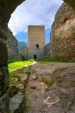 Paisagem, fortaleza de Khertvisi Fotos de Stock