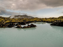 Paisagem geotérmica Islândia Fotos de Stock Royalty Free