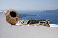 Paisagem grega Fotografia de Stock