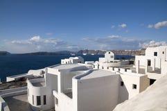 Paisagem grega típica Fotos de Stock Royalty Free
