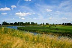 Paisagem holandesa imagens de stock royalty free