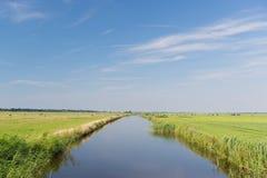 Paisagem holandesa típica Imagens de Stock Royalty Free