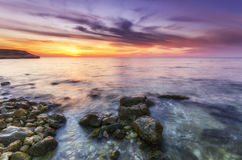 Paisagem impressionante com vista panorâmica Imagem de Stock Royalty Free