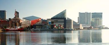 Paisagem interna do porto de Baltimore Imagens de Stock Royalty Free