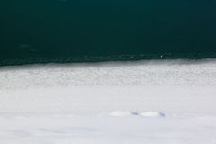 Paisagem invernal Foto de Stock