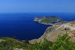 Paisagem Ionian - Kefalonia Greece Fotografia de Stock Royalty Free