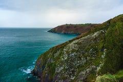 Paisagem irlandesa cortiça atlântica do condado da costa do litoral, Irlanda Imagem de Stock Royalty Free