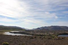 Paisagem, Islândia Fotos de Stock Royalty Free