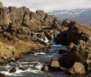 Paisagem islandêsa Fotos de Stock