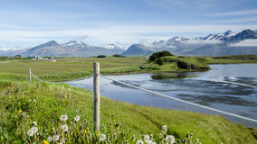 Paisagem islandêsa Fotografia de Stock