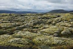 Paisagem islandêsa incomum imagem de stock