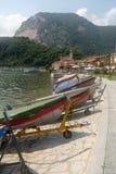 Paisagem Lago Maggiore fotografia de stock royalty free