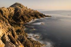 Paisagem litoral foto de stock