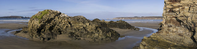 Paisagem litoral Imagem de Stock Royalty Free