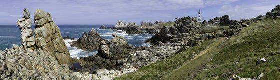 Paisagem litoral Fotos de Stock Royalty Free