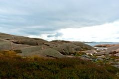 Paisagem litoral Foto de Stock Royalty Free