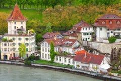 Paisagem litoral de Berna, Suíça Foto de Stock