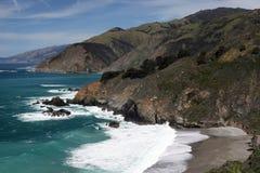 Paisagem litoral de Big Sur Foto de Stock Royalty Free