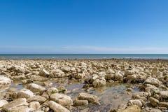 Paisagem litoral de Sussex imagens de stock royalty free