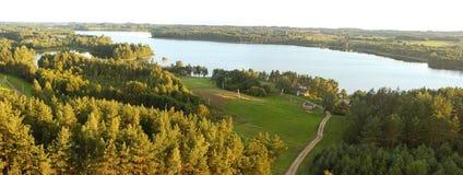 Paisagem lituana Fotos de Stock Royalty Free