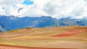 Paisagem longe de Cusco, Peru fotos de stock royalty free