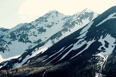 Paisagem majestosa da montanha Imagens de Stock Royalty Free