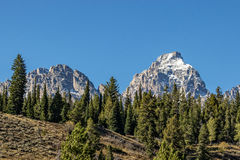 Paisagem majestosa de Teton Fotos de Stock