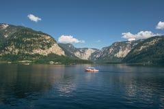 Paisagem maravilhosa de Hallstatt Avtriya Fotografia de Stock