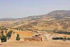 Paisagem marroquina Fotografia de Stock Royalty Free