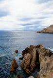 Paisagem mediterrânea Fotos de Stock