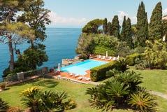Paisagem mediterrânea bonita Imagens de Stock Royalty Free