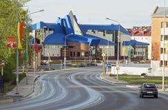 Paisagem moderna da cidade Fotografia de Stock Royalty Free