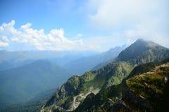 Paisagem, montanhas Foto de Stock