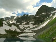 Paisagem Montanhas e vales Fotos de Stock