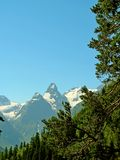 Paisagem Montanhas e vales Imagem de Stock Royalty Free