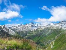 Paisagem muito bonita em Suíça Foto de Stock Royalty Free