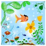 Paisagem na água Imagem de Stock