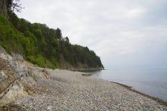 Paisagem na costa do Mar Negro Imagens de Stock
