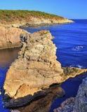 Paisagem na costa rochosa Imagens de Stock