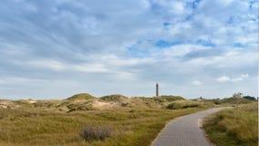 Paisagem na ilha alemão Norderney Fotos de Stock