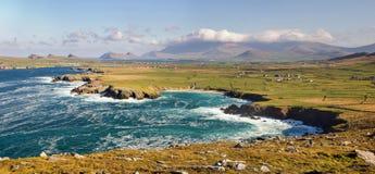 Paisagem na península do Dingle Fotos de Stock Royalty Free