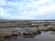 Paisagem na praia Costa Rica Fotos de Stock Royalty Free