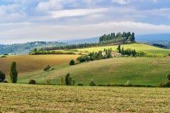Paisagem na região do Chianti na província de Siena toscânia Italy fotografia de stock royalty free