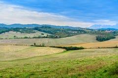 Paisagem na região do Chianti na província de Siena toscânia Italy imagem de stock royalty free