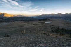 Paisagem na serra Nevada Mountains Imagem de Stock