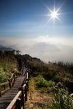 Paisagem nas montanhas Fotografia de Stock