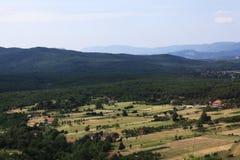 Paisagem nas montanhas Fotos de Stock