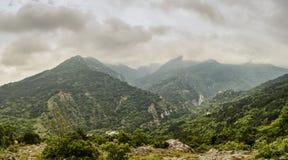 Paisagem nas montanhas dos rhodopes Imagens de Stock
